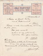 Mons , Albert Harvengt , 65 , Rue De Nimy , ( 1931 ) - Printing & Stationeries