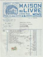 Mons , Maison Du Livre , (1932) - Stamperia & Cartoleria