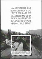 2020 Allem. Fed. Deutschland Germany Mi.Bl. 87**MNH 50. Jahrestag Des Kniefalls Von Warschau. - Blocks & Sheetlets