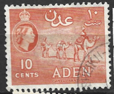 Aden  1953  SG 50  10c Fine Used - Aden (1854-1963)