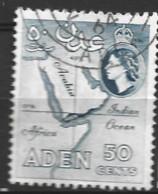 Aden  1964  SG 82  50c  Fine Used - Aden (1854-1963)