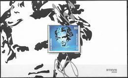 2020 Allem. Fed. Deutschland Germany Mi.Bl 85 **MNH   250. Geburtstag Von Ludwig Van Beethoven - Blocks & Sheetlets