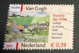 Nederland - NVPH - 2150 - 2003 - Gebruikt - Cancelled - Vincent Van Gogh - Gezicht Op Auvers - Used Stamps
