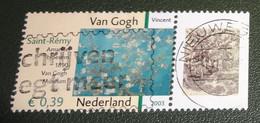 Nederland - NVPH - 2149 - 2003 - Gebruikt - Cancelled - Vincent Van Gogh - Amandelbloesem - Met Tab - Used Stamps
