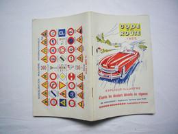 Code De La Route 1955 Code Rousseau - Non Classés