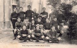 CPA D'ONDES - Equipe De Rugby De L'école D'Agriculture. - Andere Gemeenten