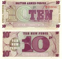 United Kingdom / 10 Pence / 1972 / P-M48(a) / UNC - British Armed Forces & Special Vouchers