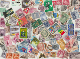 Tütenlot Mit Ca. 1600 Marken Übersee Querbeet, Alt Und Neu - Kilowaar (min. 1000 Zegels)