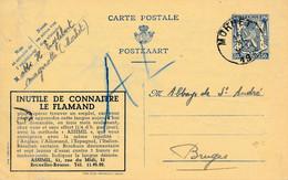 Publibel 546 – Assimil, Inutile De Connaitre Le Flamand. Voir Pli - Publibels