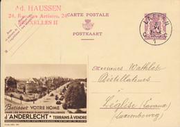 Publibel 366 – Laken 5 VI 1939 – Terrains à Vendre - Les Nouveaux Quartier Salubres D'Anderlecht - Publibels