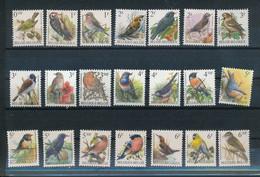 39 Verschillende Zegels - Vogels Van Buzin Tot 21FR – Postfris – MNH - Verzamelingen, Voorwerpen & Reeksen