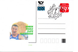 Czech Republic (04-18) Olympic Games 2004 Czech Gold Medal Sebrle Decathlon - Postcard - Summer 2004: Athens