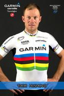CARTE CYCLISME TOR HUSHOVD TEAM GARMIN - CERVELO 2011 - Cycling