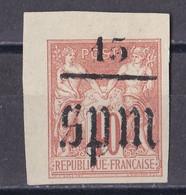 P_ St. Pierre Und Miquelon 1885 - Mi.Nr. 6 I - Postfrisch MNH - Unused Stamps