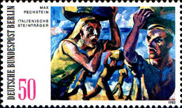 Berlin Poste N** Yv:639/640 Tableaux De Max Pechstein & Otto Mueller - Neufs