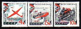 RUSSIA - 1961 - Sports Techniques  - 3v** Mi 2503A/05A - Unused Stamps