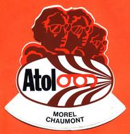 Autocollant Atol Optique Morel à Chaumont - Stickers