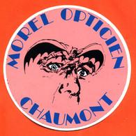 Autocollant Morel Opticien Optique Morel à Chaumont - Batman - Stickers