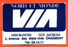 Autocollant Nord Et Monde VIA Assurances Guy Jacques à Chaumont - Stickers