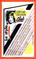 Autocollant Le Style Coiffure Création Club à Chaumont , Nogent  Chalindrey Langres  Bourbonne - Dessin D'hervé Le Graet - Stickers