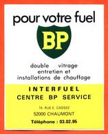 Autocollant Pour Votre Fuel BP Interfuel à Chaumont - Stickers