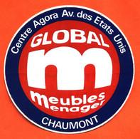 Autocollant Ets Global Meubles Ménager à Chaumont - Stickers
