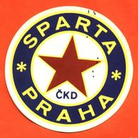 Autocollant Sparta Praha -sporting Club De Prague Club De Football Tchèque - Stickers