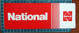 National  ADESIVO STICKER VINTAGE NEW ORIGINAL - Stickers