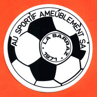 Autocollant Au Sportif Ameublement Sa La Sarraz 1971 - Football - Stickers