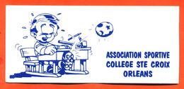 Autocollant Association Sportive Collège Sainte Croix à Orléans - Stickers