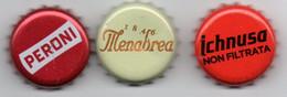 Capsula Birra Peroni, Menabrea, Ichnusa Non Filtrata - Beer
