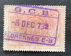 TR11 Gestempeld RECHTHOEKSTEMPEL G.C.B. FLORENNES E-B - Used