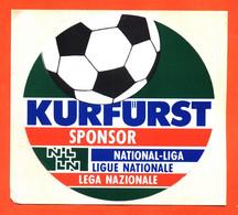 Autocollant Kurfurst Sponsor - Ligue Nationale - Football - Stickers