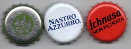 Capsula Birra Forst, Peroni Nastro Azzurro, Ichnusa Non Filtrata - Beer