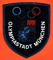 Autocollant Olympiastadt Munchen - Jeux Olympiques De Munich 1972 - Stickers