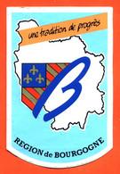 Autocollant Région De Bourgogne - Stickers