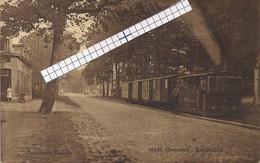 """GOOREIND-WUUSTWEZEL """" TRAMSTATIE MLET STOOMTRAM""""HOELEN 10139 UITGIFTE 1928 TYPE 9 - Wuustwezel"""