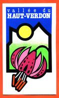 Autocollant Région - Vallée Du Haut Verdon - Stickers