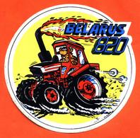 Autocollant Belarus 820 - Tracteur - Stickers