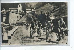 Cyclisme Les Géants De La Route En Action De Baanreuzen In Werking CP Offerte Par La SA Victoria Bruxelles Aosta - Cycling