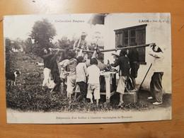 Laos Préparation D Un Bufflon à L Institut Vaccinogene Du Tranninh - Laos