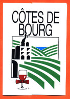 Autocollant Cotes De Bourg - Vin - Stickers