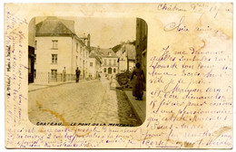 CHATEAU PORCIEN - Le Pont De La Morteau - Carte Peu Courante - Voir Scan - Chateau Porcien