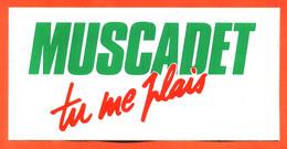 Autocollant Muscadet Tu Me Plais - Vin - Stickers