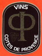 Autocollant Cotes De Provence - Vin - Stickers