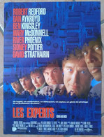 AFFICHE CINEMA LES EXPERTS + 12 PHOTOS Phil ROBINSON Robert REDFORD 1992 TBE - Posters
