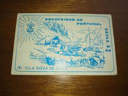 """Calendar Of Pocket """" CNE Corpo Nacional De Escutas - Vila Nova De Gaia """"  1984 - Small : 1981-90"""