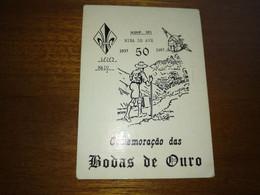 """Calendar Of Pocket """" CNE Corpo Nacional De Escutas - Riba  D' Ave """"  1987 - Small : 1981-90"""
