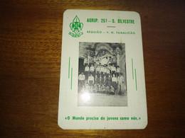 """Calendar Of Pocket """" CNE Corpo Nacional De Escutas - V. N. De Famalicão """"  1982 - Small : 1981-90"""