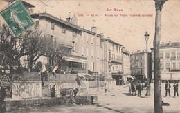 CPA (81) ALBI N° 491 Place Du Vigan (Partie Gauche)  2 Scans - Albi